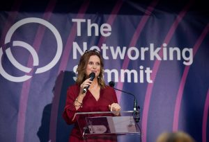 Siobhan Fitzpatrick speaks at the Networking Summit 2019